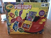 Crayola Melt And039n Mold Factory 74-7060 Comes With Box And Tons Of Crayons