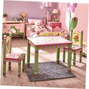 Table And Set Of Two Chairs Magic Garden Kids Room Furniture