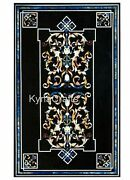 30 X 48 Inches Marble Dining Table Top Mosaic Art Wall Highlighter For Home