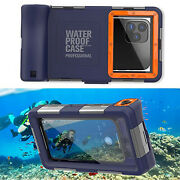 15m Underwater Diving Waterproof Case Cover For Xiaomi Redmi 8a 9 Note 9 8 Pro