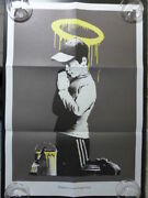 Banksy Forgive Us Our Trepasing Poster