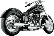 Supertrapp Staggered Internal Disc Exhaust System Chrome 628-78060