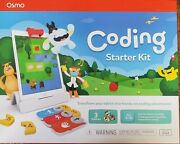 Osmo Coding Starter Kit For Ipad - 3 Learning Games - New Sealed