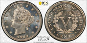 1909 5c Proof Liberty Head Nickel Pcgs Pr 67 Cac Approved High End Coin