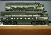 The Lionel Vault - 18135 Century Club New York Central F-3 Aa Set - Ln- Boxed