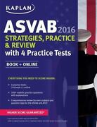 Kaplan Asvab 2016 Strategies, Practice, And Review With 4
