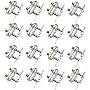 16 Sets Double Ended Conical Coupler With Cotter Body Clips Trusses Fits F34 F34