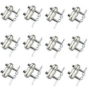 12 Sets Double Ended Conical Coupler With Cotter Body Clips Trusses Fits F34 F34