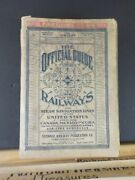 Official Guide Of The Railways 1938 January Maps Timetables Airline Stations