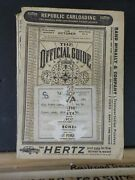 Official Guide Of The Railways 1962 October Maps Railroad Timetables Airline