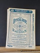 Official Guide Of The Railways 1965 May Maps Railroad And Airline Timetables Stati