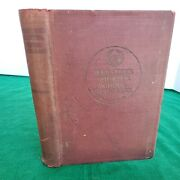 1914 Webster's Elementary School Dictionary 900 Illustrations Hardcover