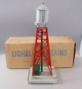 Lionel 193 Vintage O Red Industrial Water Tower Ex/box