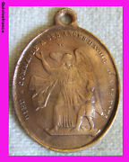Med1492 - Medal Gods Control A Ses Angesd To Have Care Of You Xix Anddeg