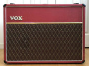 Vox Ac30/6 Tbx Red Marshall Guitar Amplifier Very Good