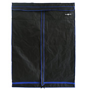 Hydroplanet 48x24x60 Mylar Hydroponic 600d 4and039x2and039 Extra-thick Canvas Grow Tent