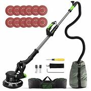 Drywall Sander, 6a 7 Variable Speed 1000-1800rpm Wall Sander With Vacuum Green