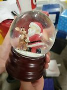 Enesco Rudolph The Red Nosed Reindeer 106616 Music Box Waterglobe
