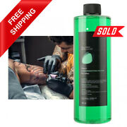 500ml Tattoo Cleaning Green Soap Liquid Quality Cleaning Wound Stencil Supplies