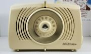 1950 Rca Victor X552 Spartanam Tube Radio Ivory Color Excellent