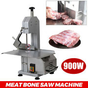 900w Meat Bone Saw Machine Meat Cutting Machine Commercial With 3 Blades