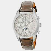 Longines Conquest Chronograph Automatic Mens Watch L27984723 New