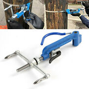 Manual Band Strapping Pliers Tool Packer Strapper Wrapper Metal Cable Tie Tool