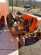 Economy Country Squire Antique Tractor 1960 9.2hp 3 Speed Mower