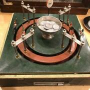 Antique German-made Tabletop Horse Racing Game Machine