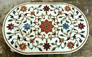 36 X 48 Inches Marble Hallway Table Mosaic Art Dining Table Top From Cottage Art