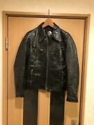 Second-hand Goods Pledge / Horsehide Leather Jacket Free Shipping From Japan