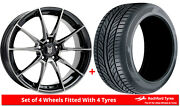 Alloy Wheels And Tyres 19 Fox Hi Line For Bmw 3 Series Gt 13-20