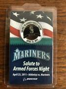 Novelty Seattle Mariners Commemorative Medal Visitor-only Items