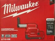 Milwaukee 2712-de M18 Cordless Hammervac Hepa Filtered Dust Extractor Tool-only