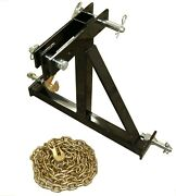 Rj Designs Xhd Log Skidder Deluxe - Includes Chain, Hooks, Pins - Made Is Usa
