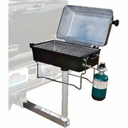 Springfield 1940057 Grill-alum Lpg W/hitch Mount Made By Springfield