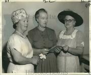 1962 Press Photo City Park Women's Club Newly Installed Officers At 4200 St. Ann