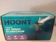 Hoont Outdoor Water Jet Spray Scarecrow Animal Pest Repeller Motion Activated