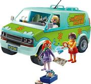 Scooby Playmobil Doo Mystery Machine Psychedelic Vehicle Batterry Operated New