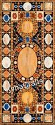 30x72 Marble Restaurant Table Marquetry Art Dining Table Top From Cottage Art