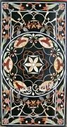30x60 Marble Dining Table Top Marquetry Art Conference Table For Living Room