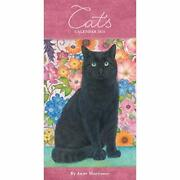 Anne Mortimer Cats Slim Diary 2021 Book The Fast Free Shipping