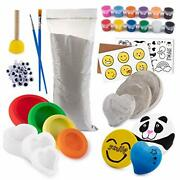 Rock Creating And Painting Kit For Kids And Adults Arts And Crafts For Kids And Adu...