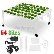Hydroponic Grow Kit Hydroponics Growing System 54 Plant Sites 6 Pvc Pipes