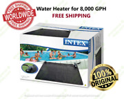 Intex Solar Mat 28685 Above Ground Swimming Pool Water Heater For 8000 Gph New