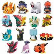 Bandai Pokemon Kids Masters Eight Edition 24pcs All 15 Candy Toy W/ Tracking