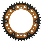Supersprox Motorcycle 520 Rear Stealth Dual Sprocket 42t Gold Rst-1793-42-gld