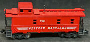 N Scale - Western Maryland 716 Red Caboose.