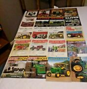 20 Issues Antique Tractor Collector Magazines Oliver John Deere