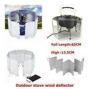 9 Plates Foldable Outdoor Camping Cooker Cooking Gas New Shield A7w6 Stove I2f0